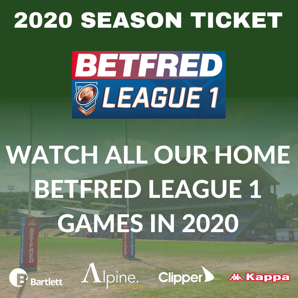 Season Ticket - 2020