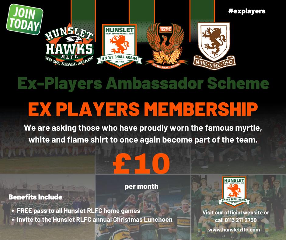 Ex Players £10