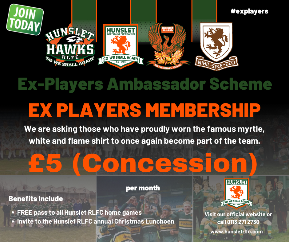 Ex Players £5 (Concession)